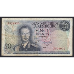 20 francs 1966