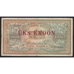 100 marka/1 kroon 1923