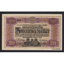 20 fillér/heller 1916 - Hajmáskér