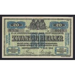 20 fillér/heller 1916 - Ostffyasszonyfa