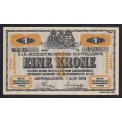 1 krone/korona 1916 - Ostffyasszonyfa