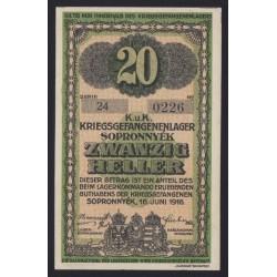 20 fillér/heller 1916 - Sopronnyék