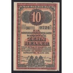 10 fillér/heller 1916 - Sopronnyék