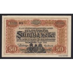 50 fillér/heller 1916 - Hajmáskér