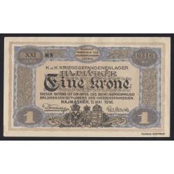 1 krone/korona 1916 - Hajmáskér