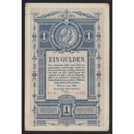 1 forint/gulden 1882
