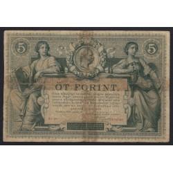 5 forint/gulden 1881
