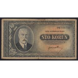 100 korun 1945