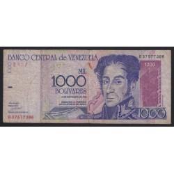 1000 bolivares 1998