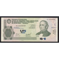 1 peso 2004