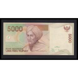 5000 rupiah 2001