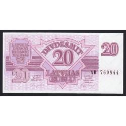 20 rubli 1992