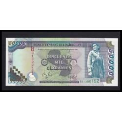 50000 guaranies 1998