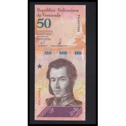 50 bolivares 2018