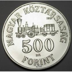 500 forint 1991 BU - Széchenyi István