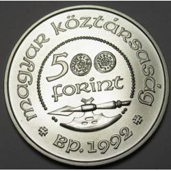 500 forint 1992 BU - Szent László