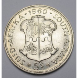 5 shillings 1960 - South African Union