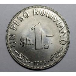 1 peso 1974