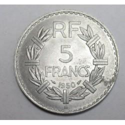 5 francs 1950