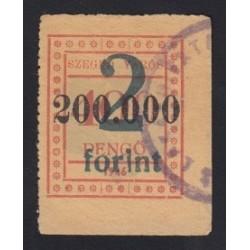 200.000 pengõ/2 forint 1946 - Szeged város közmunka