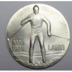 25 markkaa 1978  - Lahti Winter Olympics Games