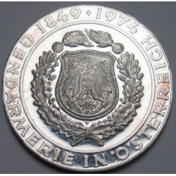 50 schilling 1974 PP - 125th Anniversary of the Austrian Police