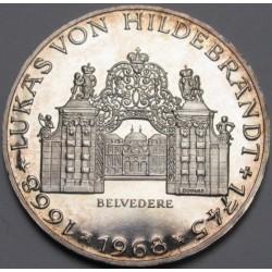 25 schilling 1968 PP - Lukas Von Hildebrandt