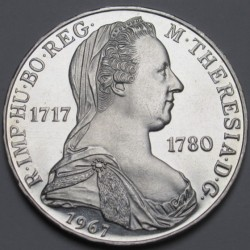 25 schilling 1967 PP - Maria Theresia
