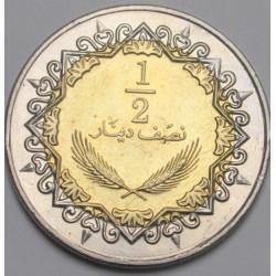 1/2  dinar 2004