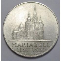 25 schilling 1957 - Mariazell Baisilica