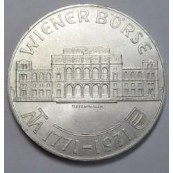 25 schilling 1971 - Vienna Stock Exchange