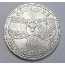 50 schilling 1963 - 600 years Tirol