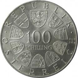 100 schilling 1975 - Johann Strauss