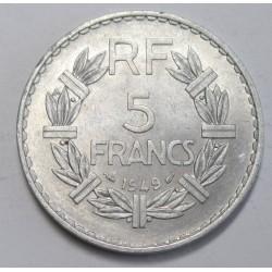 5 francs 1949