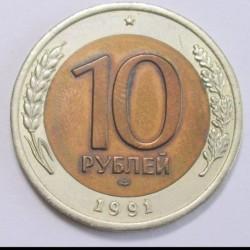 10 rubel 1991