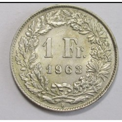 1 franc 1963