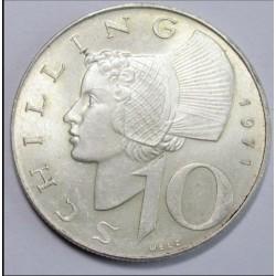 10 schilling 1971