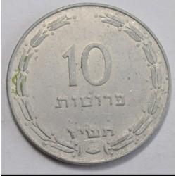 10 pruta 1957