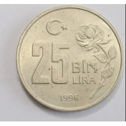 25 lira 1996