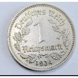 1 reichsmark 1934