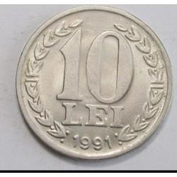 10 lei 1991 - Revolution