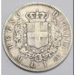 1 lira 1867