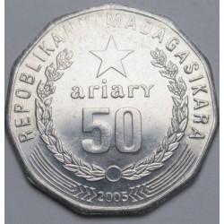 50 ariary 2005