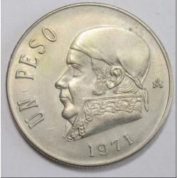 1 peso 1971