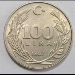 100 lira 1987