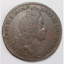 Charles VI. jeton City of Narmur 1717