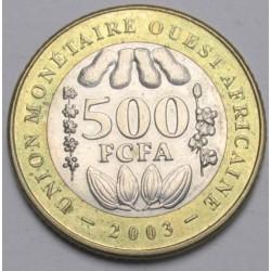 500 francs 2003