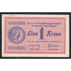 1 krone 1915 - Kriegsgefangenenlager Freistadt