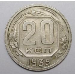 20 kopeks 1935