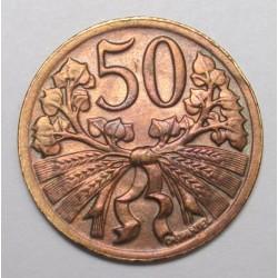 50 haleru 1947